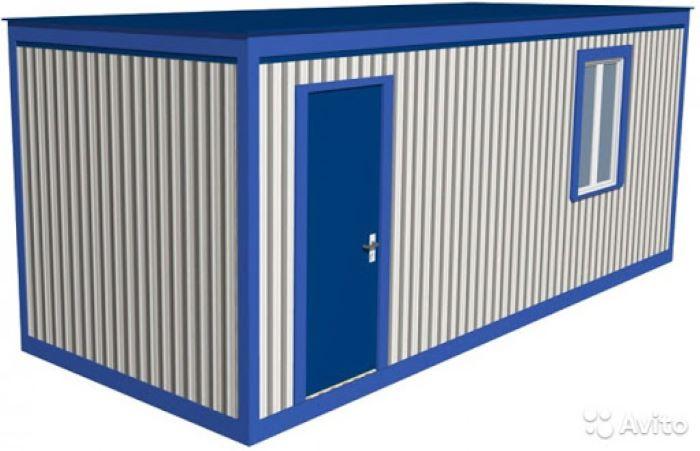 блок-контейнер СтройМодуль