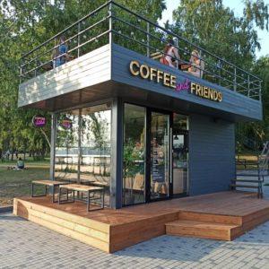 модульное кафе